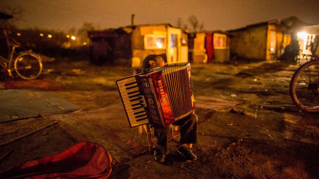 Roma community in Wrocław. Photo by Tomas Rafa