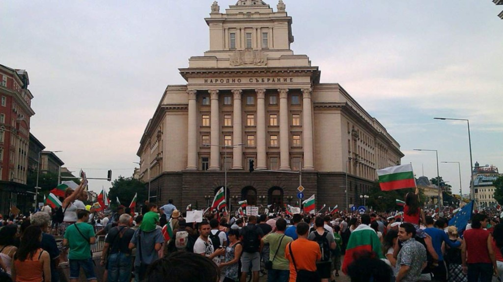 Bulgaria-Prostest