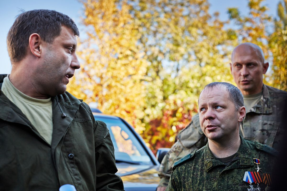 Donetsk Luhansk Ukraine