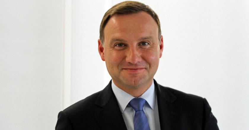 Poland's newly-elected president Andrzej Duda