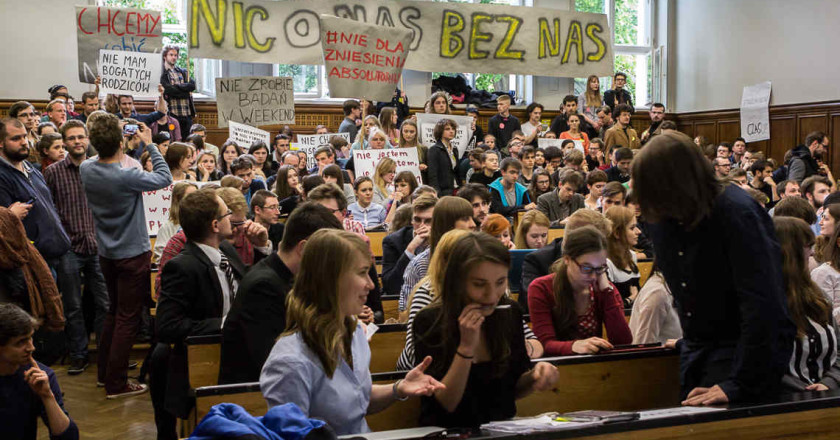 Polish students are not alone
