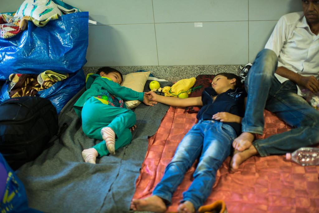 Keleti-Station-Refugees