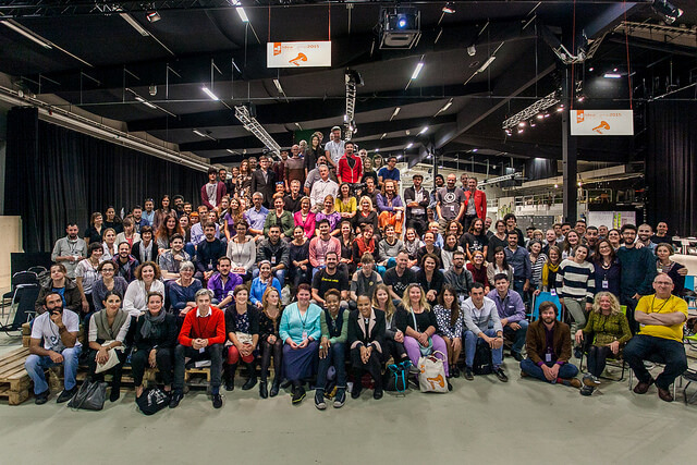 Group picture at the end of 2015 Idea Camp. Photo by Julio Albarrán