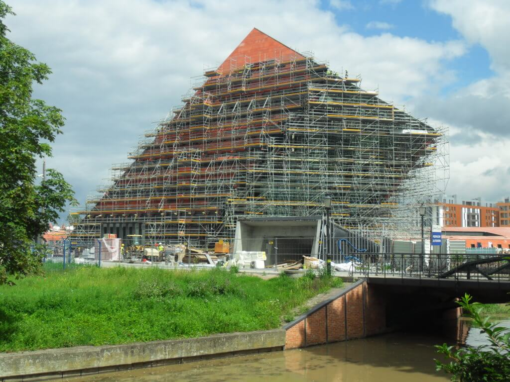 The Museum of World War II in Gdańsk under construction. Source: Wikipedia