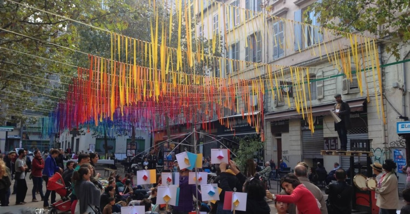 Place à l'art, 2014 edition. Photo by Canan Marasligil