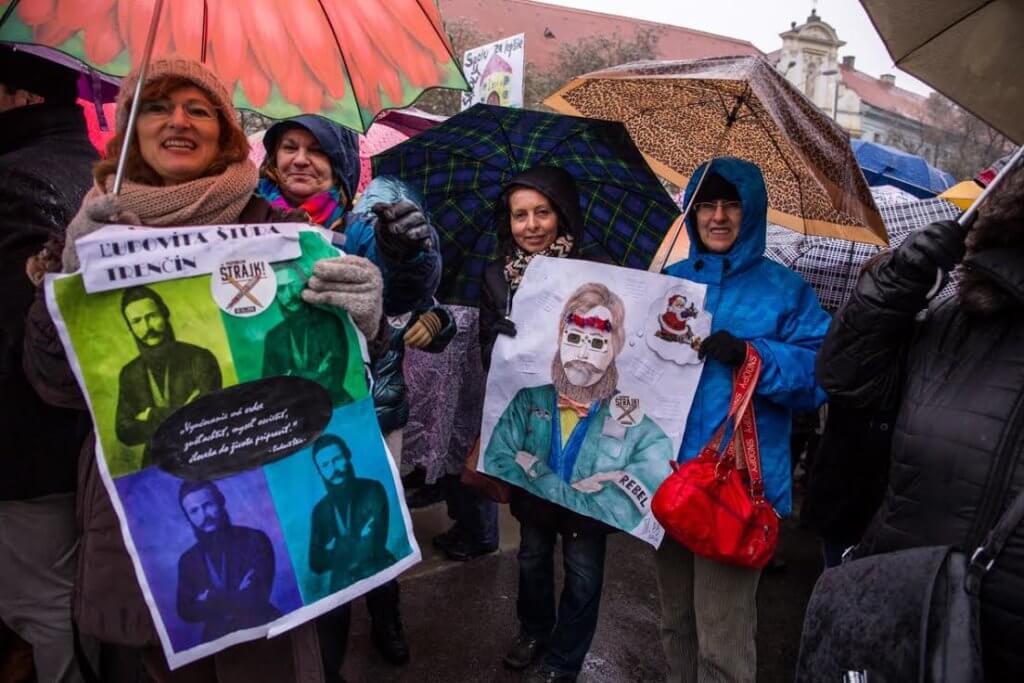 Slovak Teachers Strike