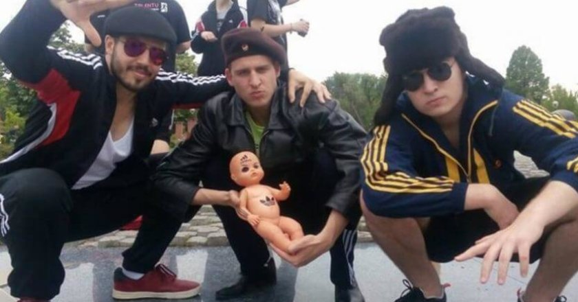 Squatting Slavs