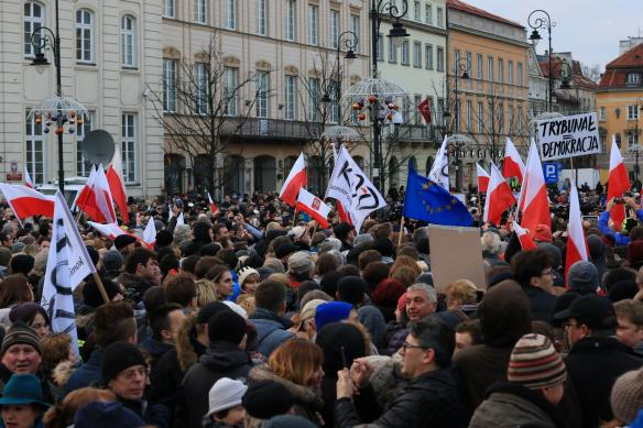 Protests in Warsaw