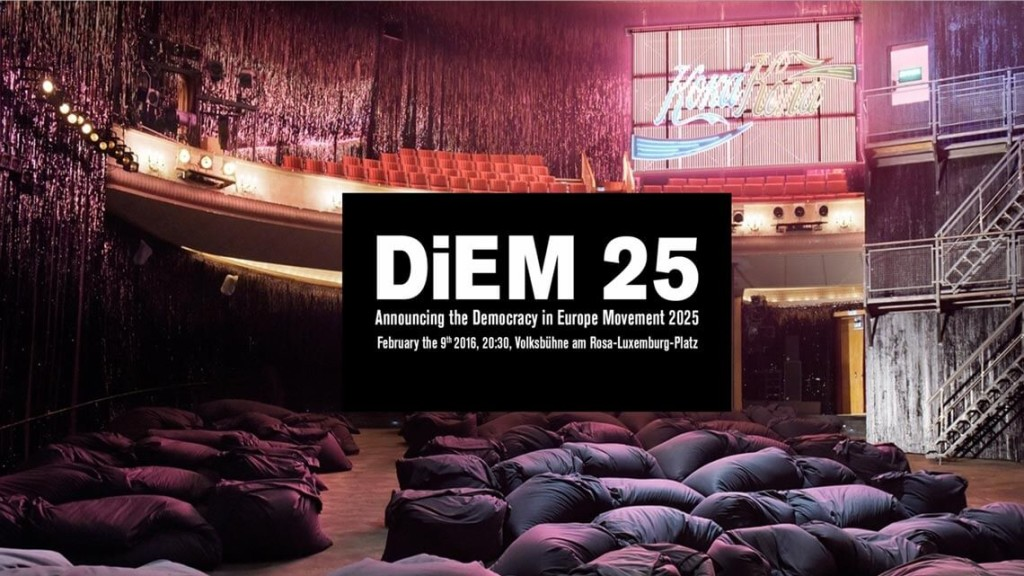 DiEM Berlin launh Varoufakis