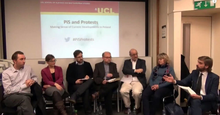 UCL conference Making Sense of Current Developments in Poland
