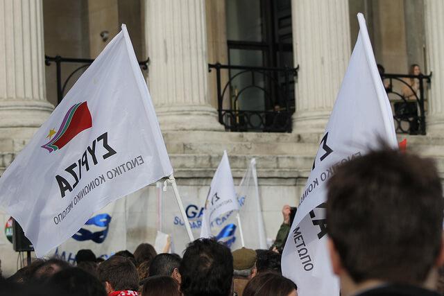 Syriza rally Athens