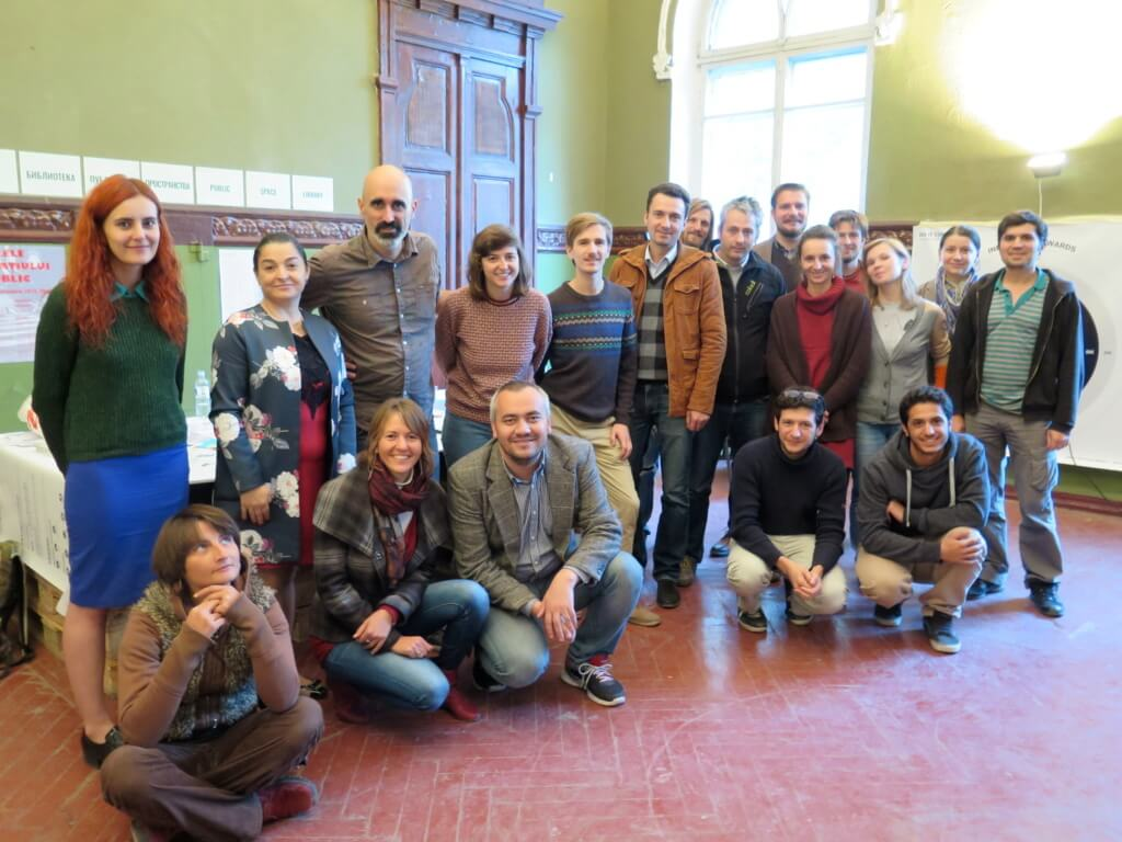 Participants of the workshop in Public Space Days.