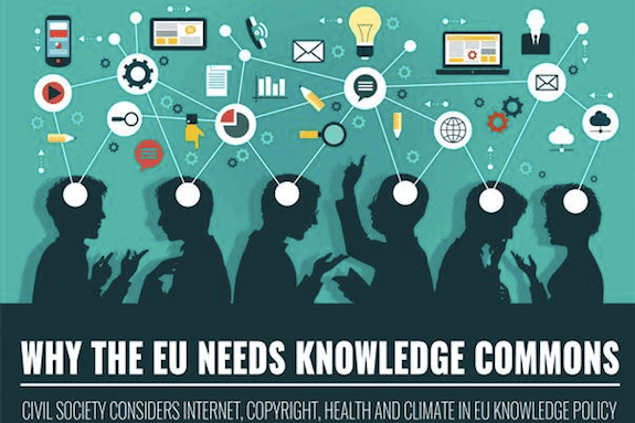 Why the EU needs Knowlegde commons poster