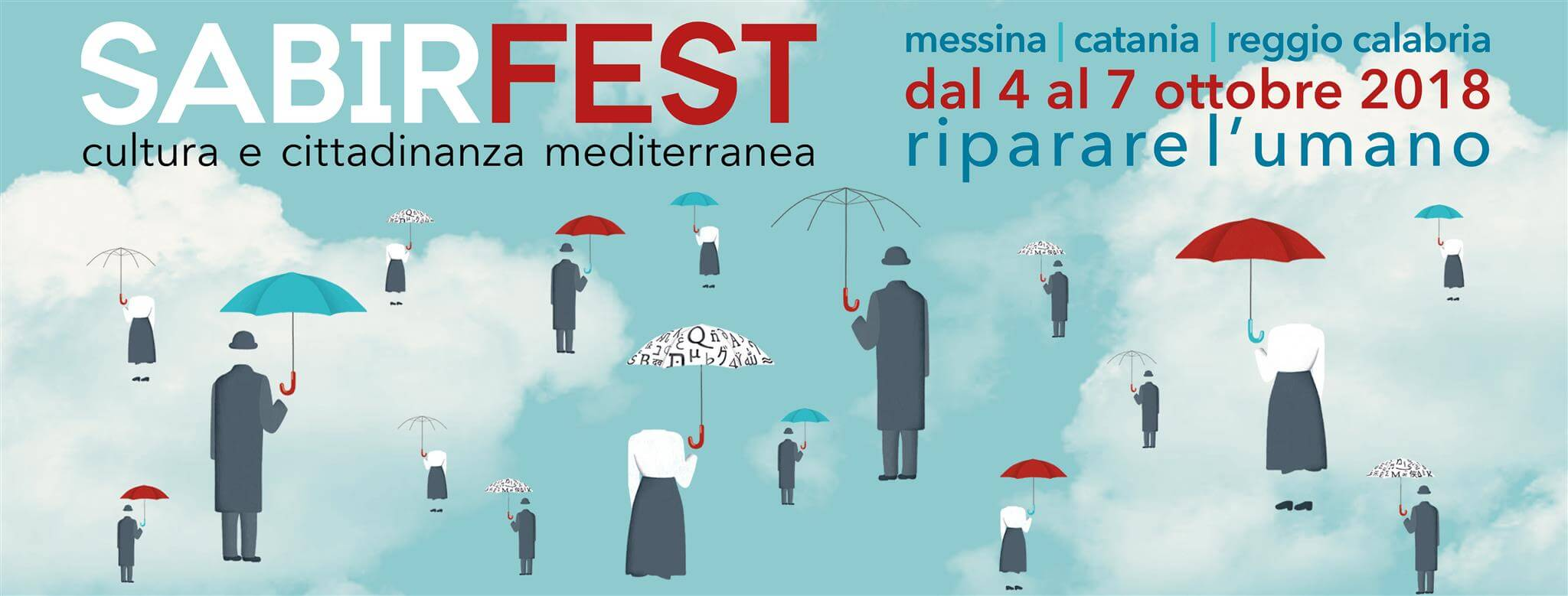 Banner of the SABIR Fest 2018 in Italy