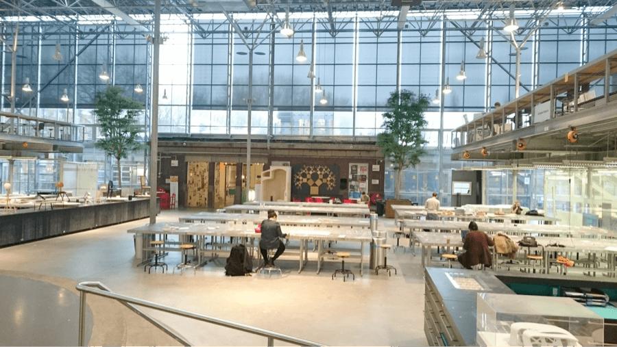 Main work space, TU Delft