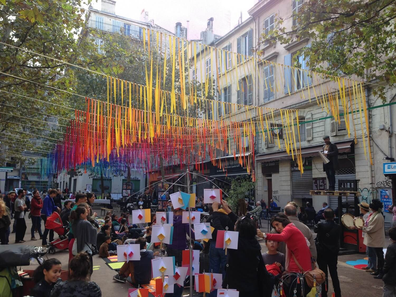Place à l'art, 2014 edition. Photo by Canan Marasligil