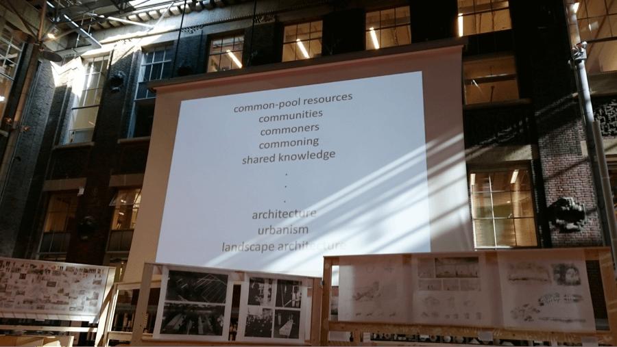 Slide from presentation Tom Avermaete, TU Delft