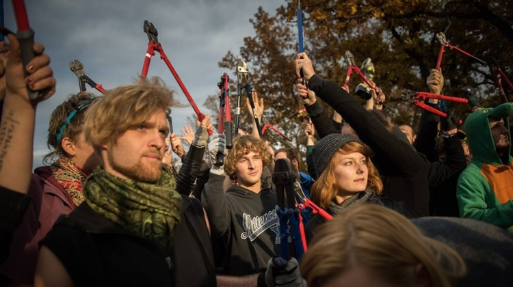Activists Are Trying To Topple The European Wall