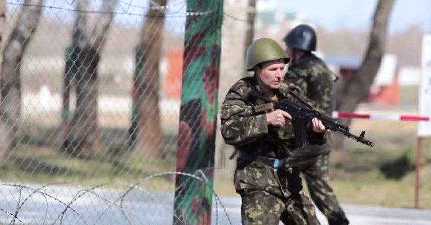 Ukraine goes to war