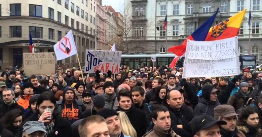 Anti-Islam demonstration