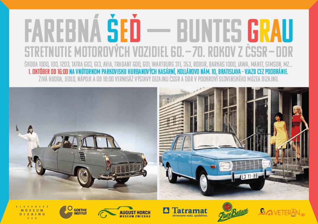 Buntes Grau exhibition advert
